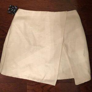 white nasty gal skirt